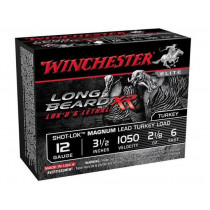 "Winchester Long Beard XR, 12 GA, 3-1/2"" #6 Lead, Box of 10"