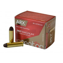 Inceptor Polycase ARX Self Defense 357 Mag, 87 GR Cu/P ARX Bullet, Box of 20