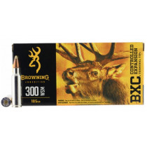Browning BXC, .300 WSM Ammunition, 20 Rounds, BXC 185 Grains
