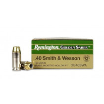 Remington .40 S&W, 165 Grain JHP, 25 Round Box, 1050 fps
