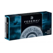 Federal Power-Shok Ammunition, 25-06 Remington, 117 Grain Soft Point, 20 Round box