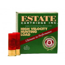 "Estate High Velocity Hunting, .410 Gauge, 2.5"" ,1/2oz, 6 Shot, 250 Round Case, (25 Rounds Per Box / 10 Boxes Per Case)"