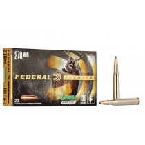 Federal Premium 270 Winchester, 130 GR Sierra GameKing Soft Point Boat Tail, Box of 20