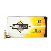 Armscor .40 S&W, FMJ 180 Grains, 50 Round Box