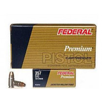 Federal Defense .357 SIG, 125 GR JHP, Box of 50