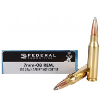 Federal Power-Shok 7mm-08 Rem, 150 GR Soft Point, Box of 20
