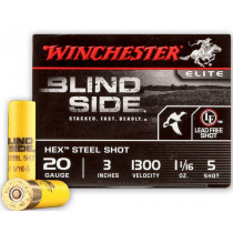 "Winchester 20 Gauge 3"" #5 Blindside 1 1/16oz Lead Free, 25 Round Box"