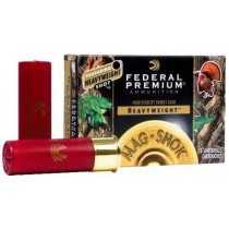 "Federal Premium Heavyweight Mag Shok Turkey Loads, 12 Gauge 3.5"" 1-7/8 Oz #7 Shot, 5 Round Box"