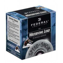 "Federal Speed-Shok Waterfowl, 12 GA, 3-1/2"", 1 3/8oz #4, Box of 25"
