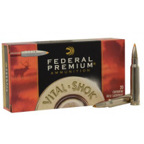 Federal Premium 338 Winchester Magnum, 200 GR Trophy Bonded Tip, Box of 20