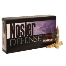 Nosler Defense 6.8mm Remington SPC 90 Grain Bonded Solid Base, Box of 20