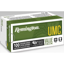 Remington UMC 380 ACP 88 Grain Jacketed Hollow Point, 100 Round Box
