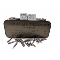 Red Army Standard 7.62x39 122 GR FMJ, 640 RD TINS