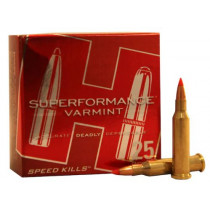 Hornady Superformance Varmint Ammunition 17 Hornet 20 Grain V-MAX, Box of 25