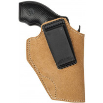 "BlackHawk Suede Leather Angle Adjustable ISP Holster for 2"" 5 Shot Revolver, Left Hand"