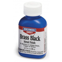 Birchwood Casey Brass Black Metal Finish 3 oz Bottle