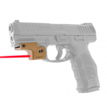 LaserLyte Lyte Ryder Laser Sight Universal Rail Mount Red Laser Tan