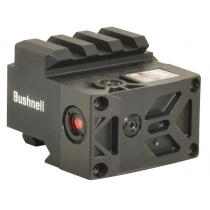 Bushnell AR Optics Rush Hi-Rise Mount with Integrated Red Laser Sight Picatinny-Style Black