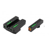 TRUGLO TFX Pro Walther P99/PPQ Front and Rear Set Green