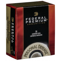 Federal Premium Hydra-Shok 10mm Auto, 180 GR JHP, Box of 20