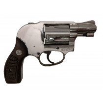 "Smith & Wesson Model 38 Airweight, 2"" Nickel, 38 Special *Fair*"