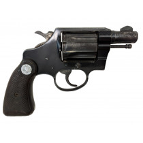 """Colt Cobra, 1st Model, 2"""" Blue, 38 Special, *Good, Incomplete*"""
