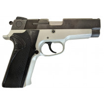 "Smith & Wesson 410, .40 S&W, 4"" Barrel, Two-Tone, Without Magazine, *Good, Incomplete*"