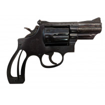 """Smith & Wesson 19-4, 357 Magnum, 2.5"""" Blue, *Good, Incomplete*"""