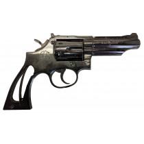 "Llama Comanche III, .357 Magnum, 4"" Blue, *Good, Incomplete*"