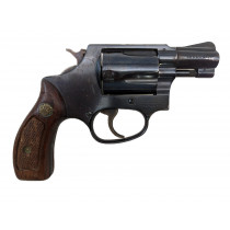 "Smith & Wesson Model 36 ""No Dash"", 2"" Blue Round Butt, 38 Special, *Good, Incomplete*"