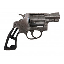 "Smith & Wesson Model 36 "" No Dash"", 2"" Square Butt, .38 Special, *Fair, Incomplete*"