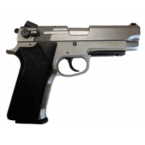 "Smith & Wesson 4563TSW, .45 ACP, 4.25"" Barrel, Fixed Sights, Stainless Finish, *Good*"