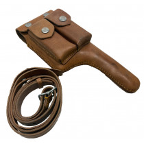 Broomhandle Mauser Holster w/ Strap, *New*