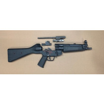 HK MP5 Parts Kit, 9mm, A2 Stock, 4 Position Ambi Burst Trigger Group, 0,1,3,F, *Good*