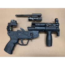 HK MP5K Parts Kit w/ Barrel, 9mm, *Good*