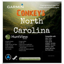 Garmin North Carolina HuntView State Birdseye Map 24K TOPO Hunt View