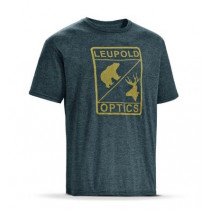 Leupold Men's SS L Optics Tee, Graphite Heather, Size: Large
