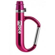 Mace Keyguard Pepper Spray Carabiner, Pink