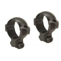 "Millett 30mm Angle-Loc Windage Adjustable Rings 3/8"" Grooved Receiver Matte Medium"