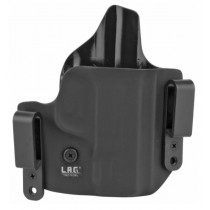 L.A.G. Tactical Defender Series OWB/IWB Holster for S&W M&P Shield 45, Right Hand