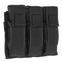 Tac Shield Triple Pistol Magazine MOLLE Pouch