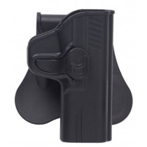 Bulldog Rapid Release Paddle Holster, Sig Sauer P220/225/226/228/229, Black, Right Hand