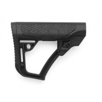 Daniel Defense Collapsible Buttstock, Mil-Spec, Polymer, Black Finish