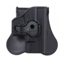 Bulldog Cases Polymer Holster w/ Paddle and Belt Loop For H&K USP