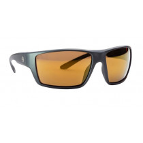 Magpul Terrain Shooting Glasses Gray Frame Polarized Anti-Reflective Bronze/Gold Mirror Lenses MAG1021-880