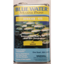 Blue Water Marine Paint, Solvent Dewaxer, 1 Quart