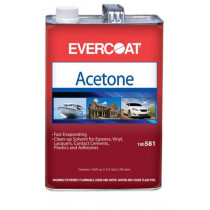 Evercoat Fiber Glass Acetone, 1 Gallon