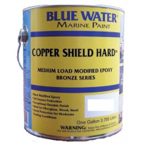 Blue Water Marine, Copper Shield Hard, Admiral Red, 1 Gallon