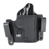 L.A.G. Tactical Defender Series OWB/IWB Holster SIG 238 Right Hand Kydex Black