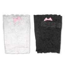Bulldog Cases Concealed Lace Thigh Holster With Garter Straps, Right Hand